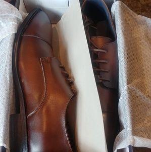 Joseph Abboud Shoes - JOSEPH ABBOUD MEMORY FOAM MATTEO BROWN SIZE 10